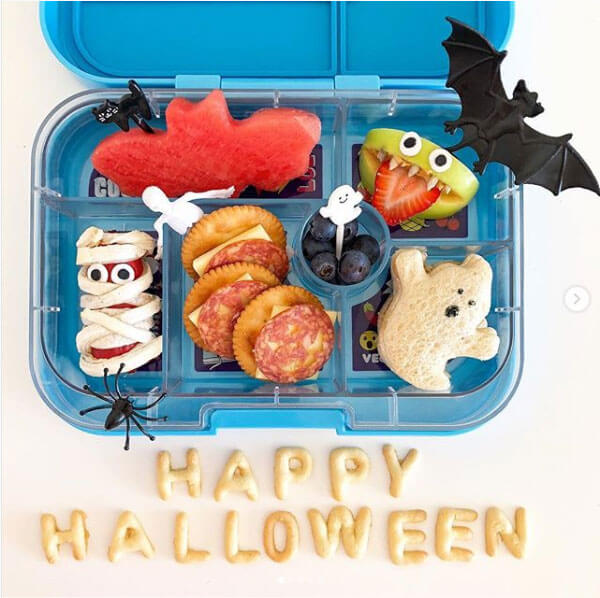 Happy Halloween lunchbox from What Jess Loves