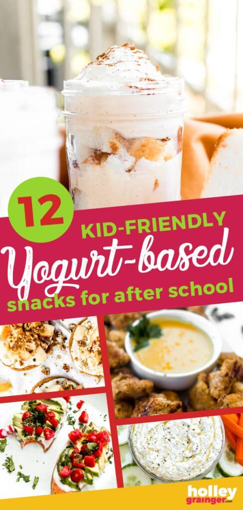 12 Kid-Friendly Yogurt-Based Snacks for After School from Holley Grainger