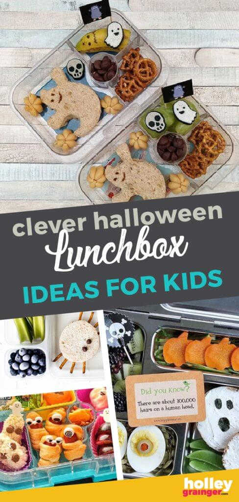 Clever Halloween Lunchbox Ideas for Kids, from Holley Grainger