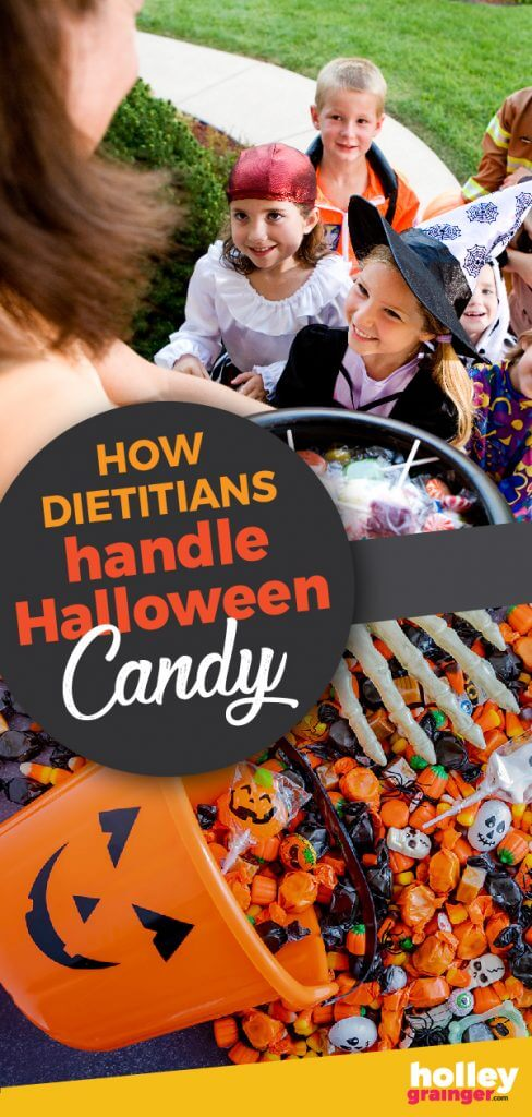 How Do Dietitians Handle Leftover Halloween Candy