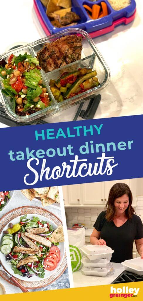 Healthy Takeout Dinner Shortcuts from Holley Grainger