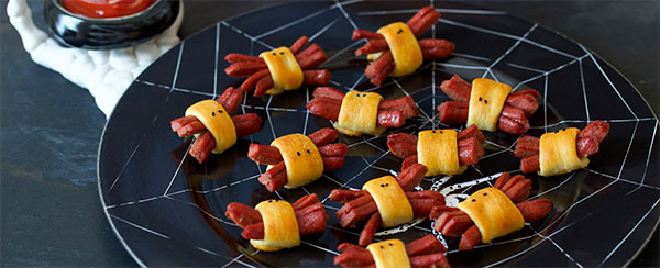 Hot Dog Spiders via Applegate