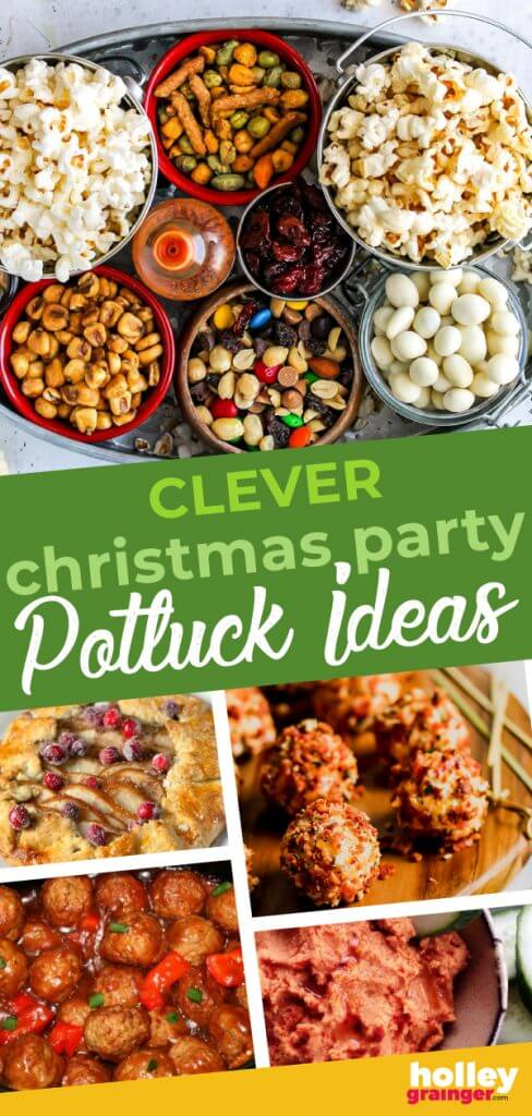Clever Christmas Party Potluck Ideas that Travel Well