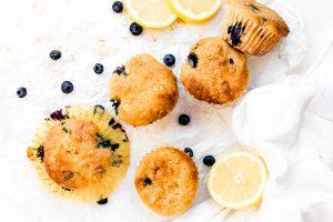 Lemon Blueberry Muffins from Holley Grainger