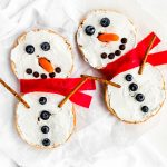 Bagel Snowman from Holley Grainger