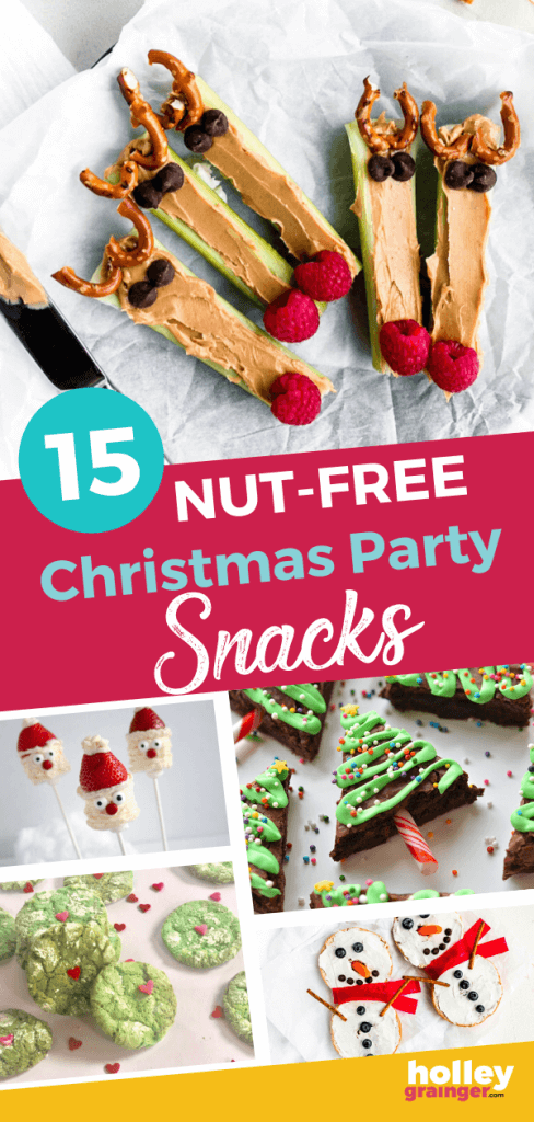 Nut Free Christmas Party Snacks