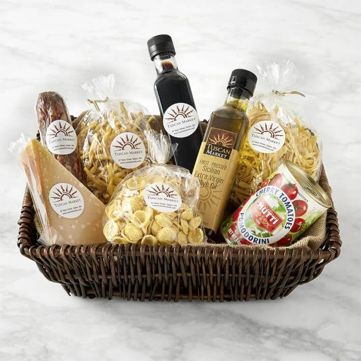 Non Wine Gift - Best of Italy Pasta Basket