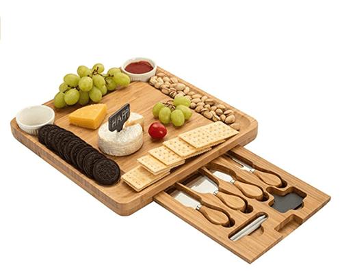 Charcuterie Board - an ideal non-wine hostess gift