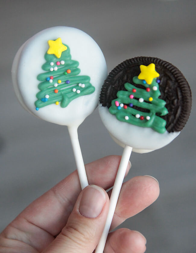 Christmas Tree Oreos