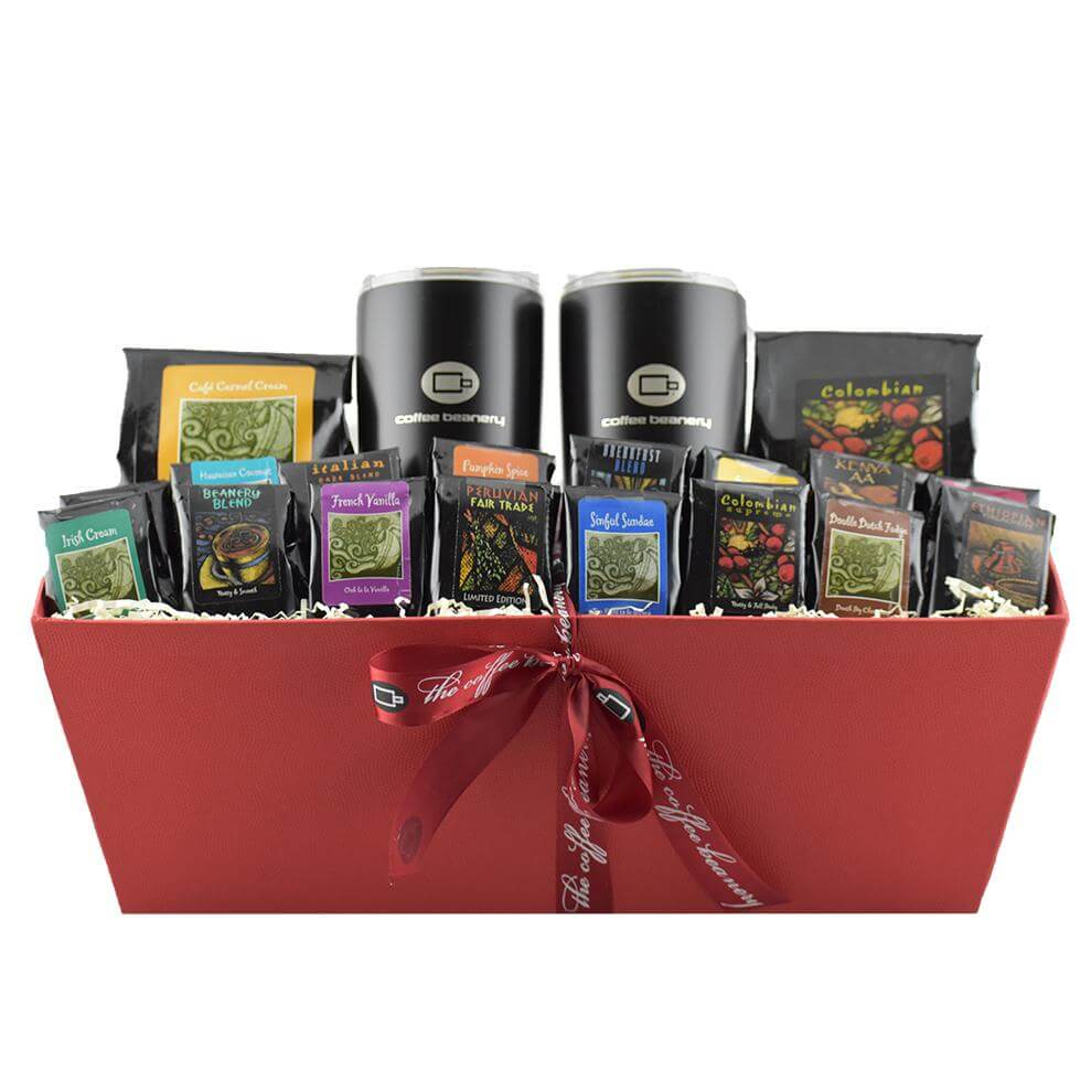 Non Wine Hostess Gifts - Gourmet Coffee Basket