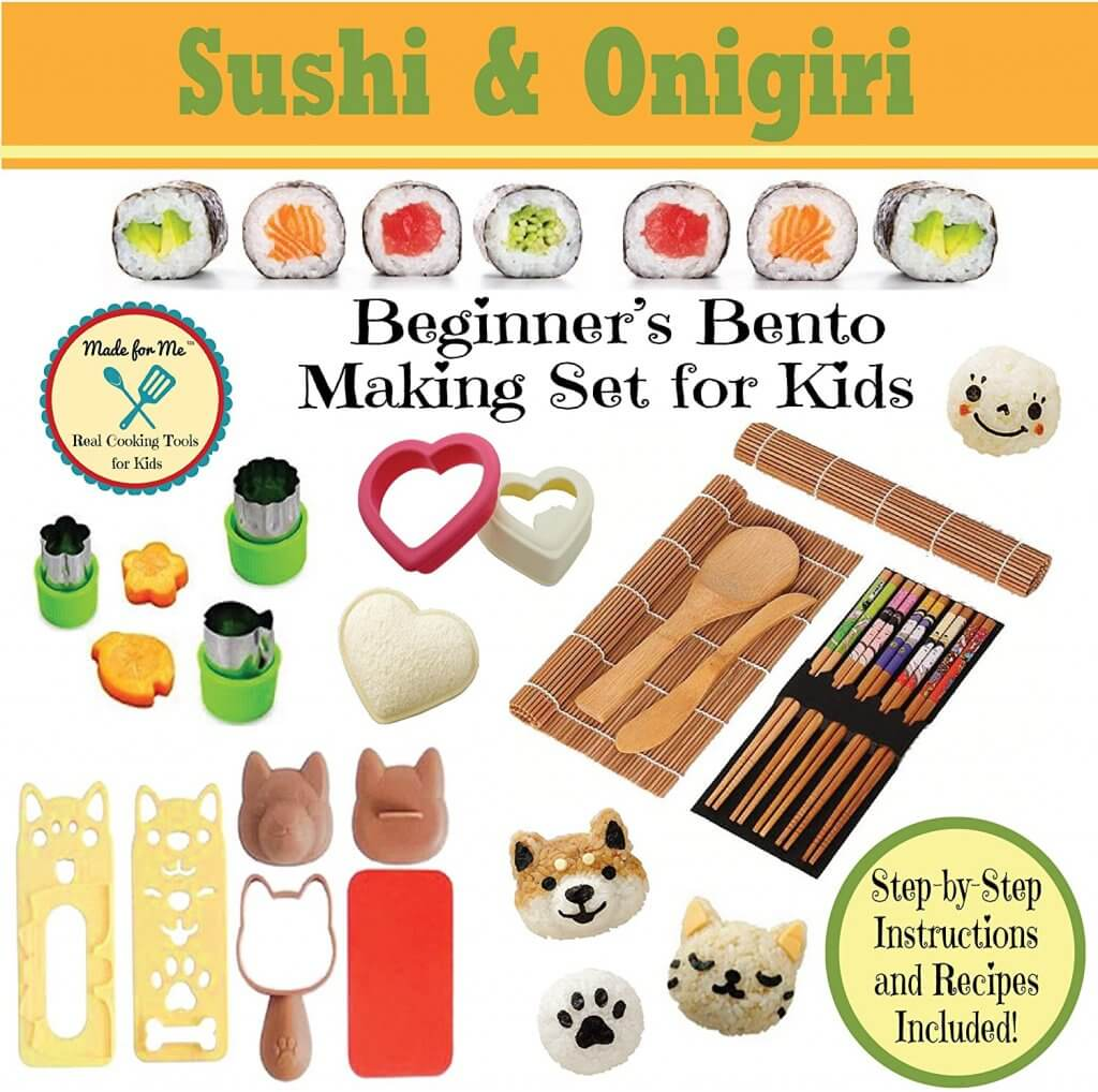 Sushi Making Set for Kids that Cook