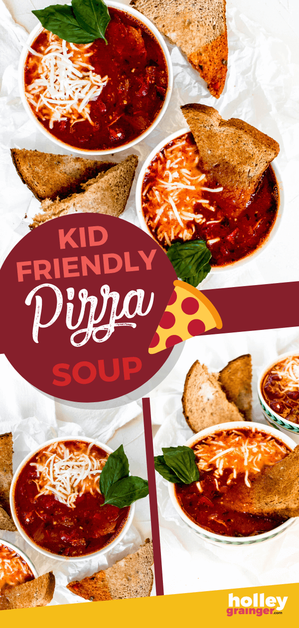 Kid-Friendly Pizza Soup