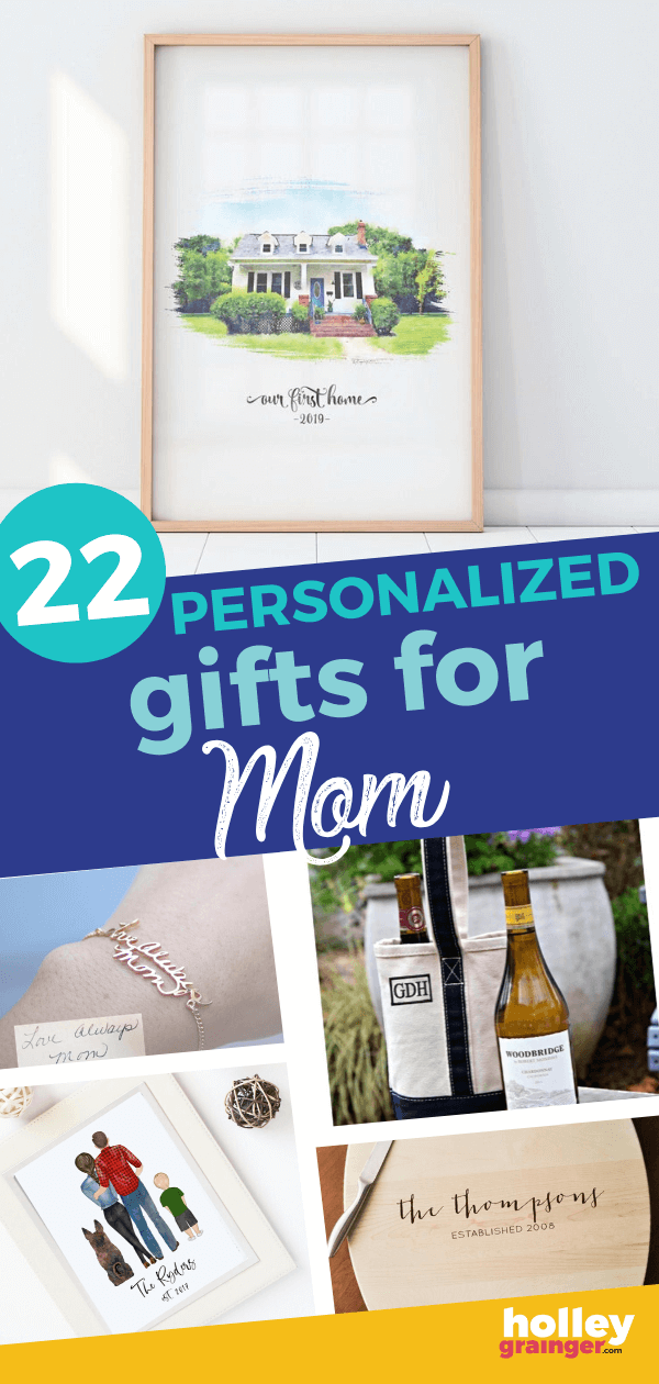 22 Personalized Gifts for Mom