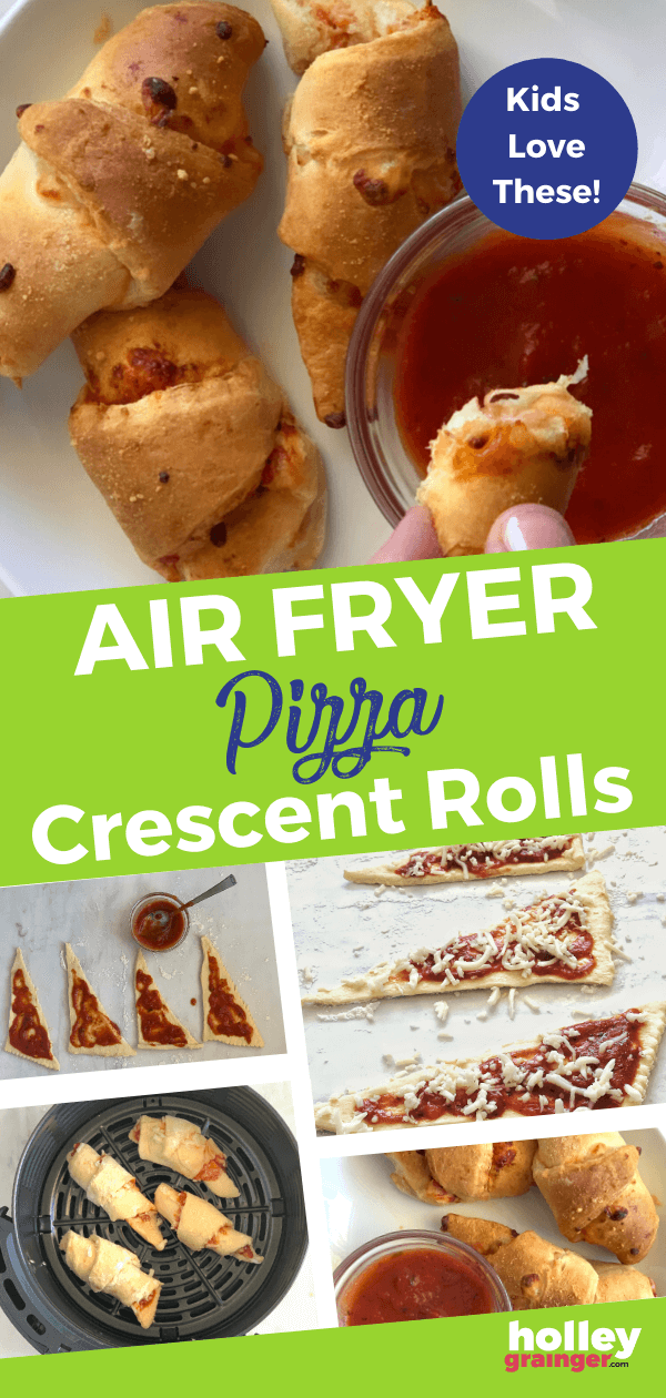 Air Fryer Pizza Crescent Rolls