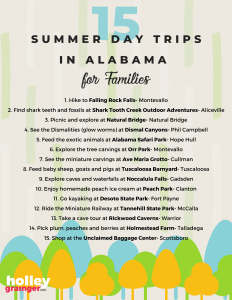 Summer Day Trips for Families in Alabama