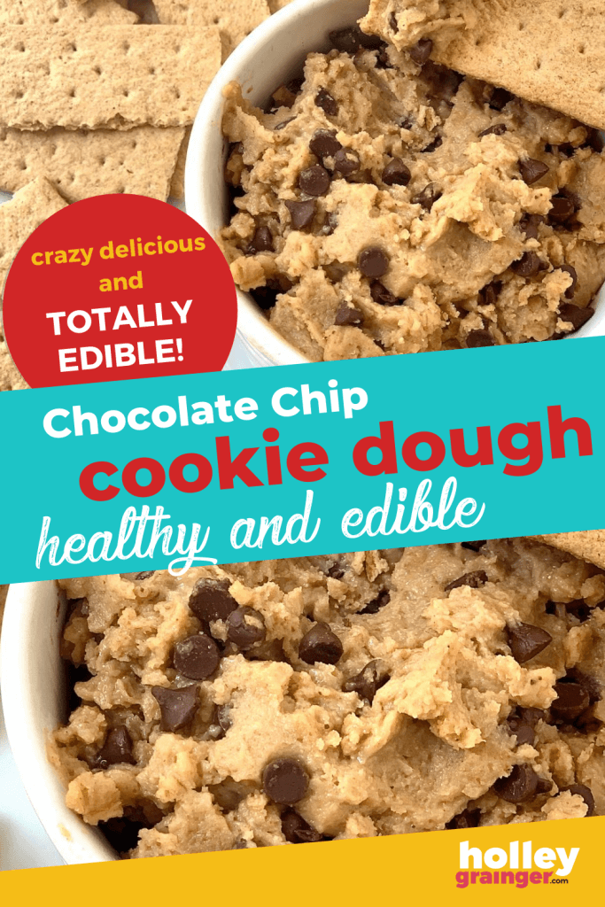 Healthy Edible Chocolate Chip Cookie Dough