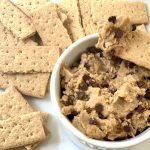 Healthy and Edible Chocolate Chip Cookie Dough
