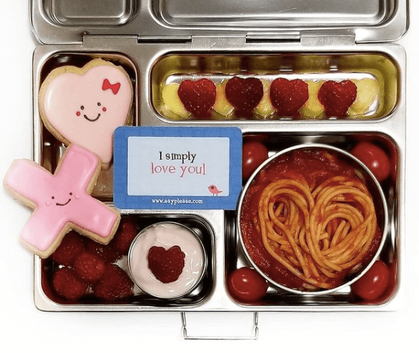 Fun Valentine's Day Lunchboxes