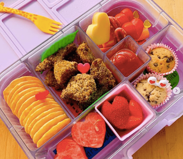Lunchbox Ideas for Valentines Day