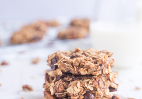 Chunky Chocolate Chip Pecan Breakfast Cookies, from Holley Grainger