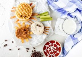 Holley Grainger's Spooky Spider Sandwiches 3 Ways