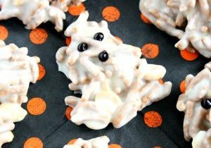White Chocolate Ghost Haystacks