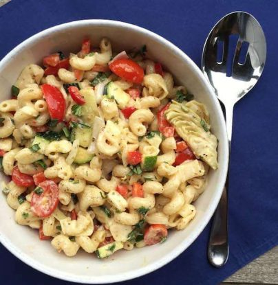 Company Pasta Salad with Veggies