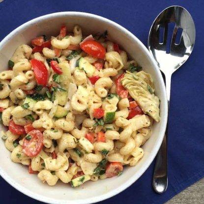 Company Pasta Salad with Veggies
