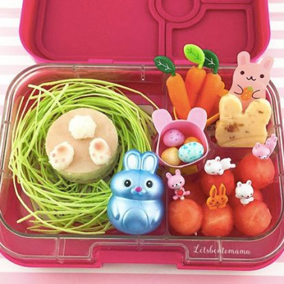 Easter Lunchbox Ideas gathered by Holley Grainger from letsbentomama