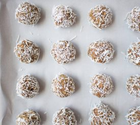 Nut-free Snack: Apple Cinnamon Energy Balls