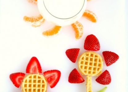 Fruit and Waffle Flower Garden