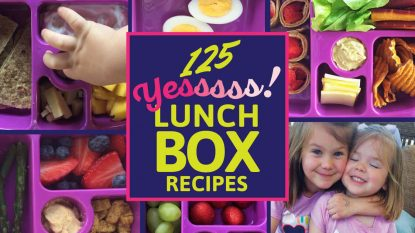 125 Healthy Lunchbox Recipes, from Holley Grainger