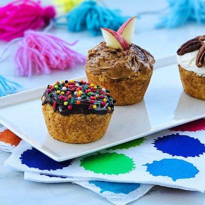 2-Ingredient Applesauce Cupcakes from Holley Grainger
