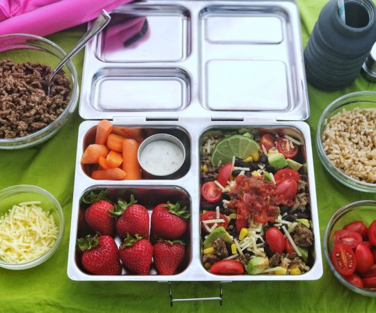 Beefy Burrito Bowls, from Holley Grainger