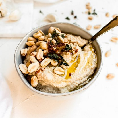 Boiled Peanut Hummus from Holley Grainger