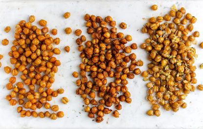 Chickpeas 3 Ways, from Holley Grainger