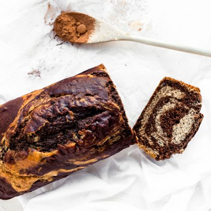 Chocolate Swirl Banana Bread from Holley Grainger