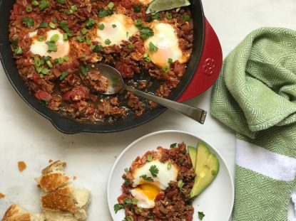 Holley Grainger Easy Skillet Shakshuka