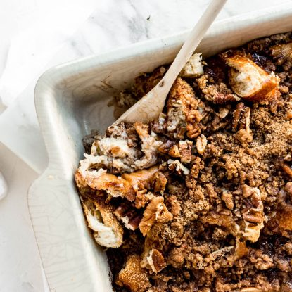 Overnight French Toast Casserole from Holley Grainger
