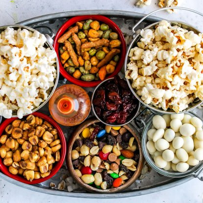 Gourmet Popcorn Bar, from Holley Grainger