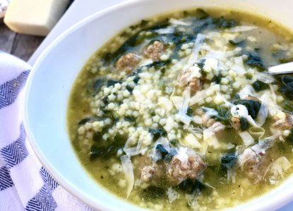 Italian Wedding Soup from Holley Grainger
