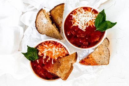Kid-Friendly Pizza Soup from Holley Grainger