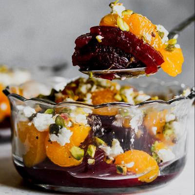 Layered Cranberry Salad from Holley Grainger