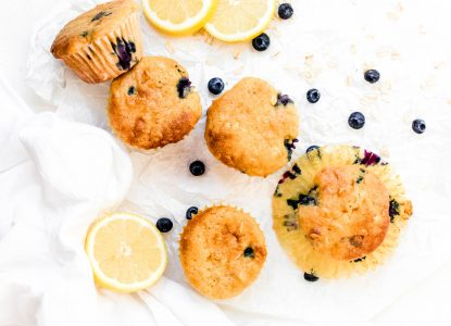 Lemon Blueberry Muffins from Holley Grainger