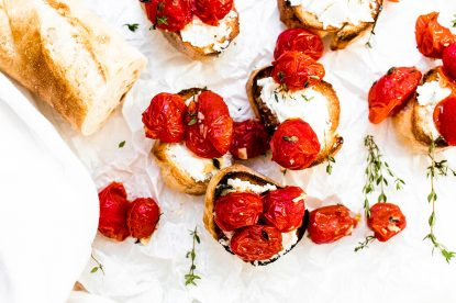Thyme Roasted Tomatoes from Holley Grainger