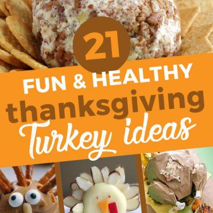 21 Fun & Healthy Thanksgiving Turkey Ideas from Holley Grainger