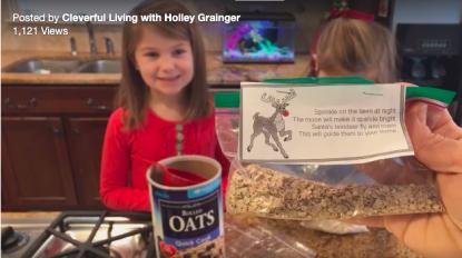 How to Make Reindeer Food for Christmas Eve