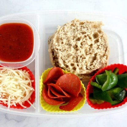 Healthier Lunchable Pizza Lunchbox