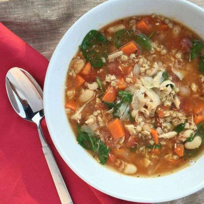 Tuscan Chicken and Sorghum Soup2