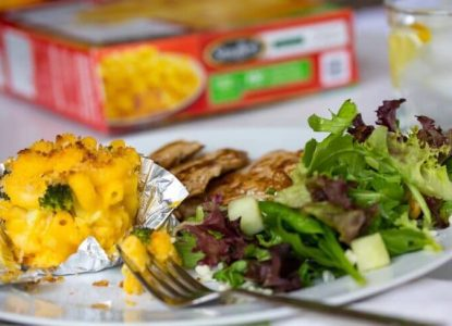 Balance Your Plate with Frozen Foods Veggie Mac and Cheese Muffins